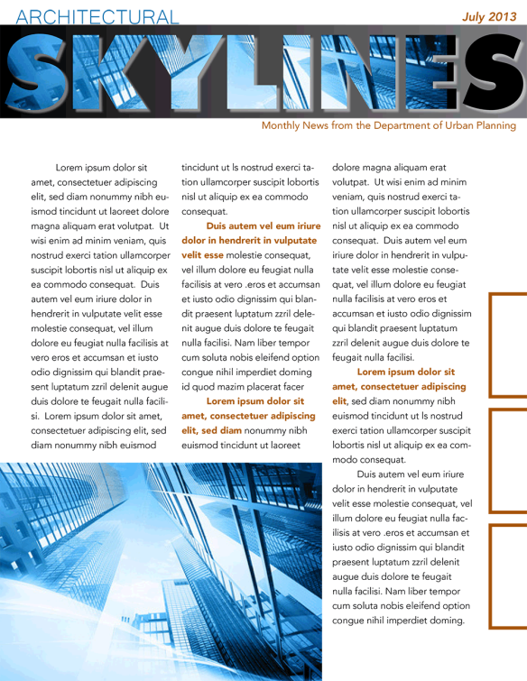 Skylinesnewsletter