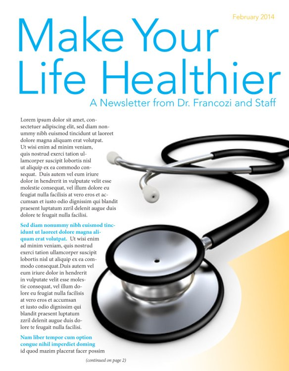 Making-Your-Life-Healthier-Newsletter