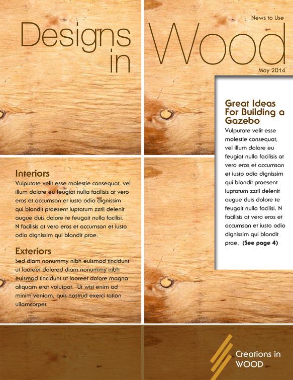 WoodNewsletter