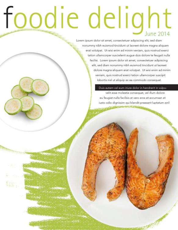 foodie delight newsletter