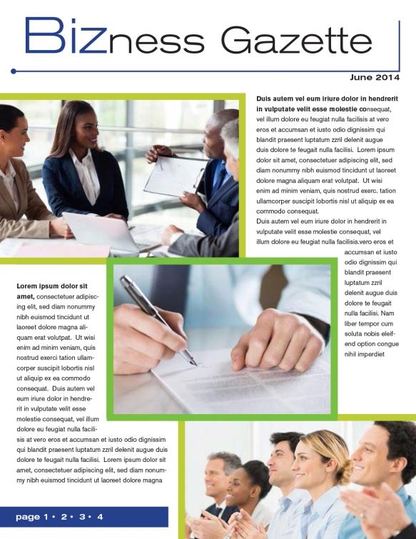 Green newsletter